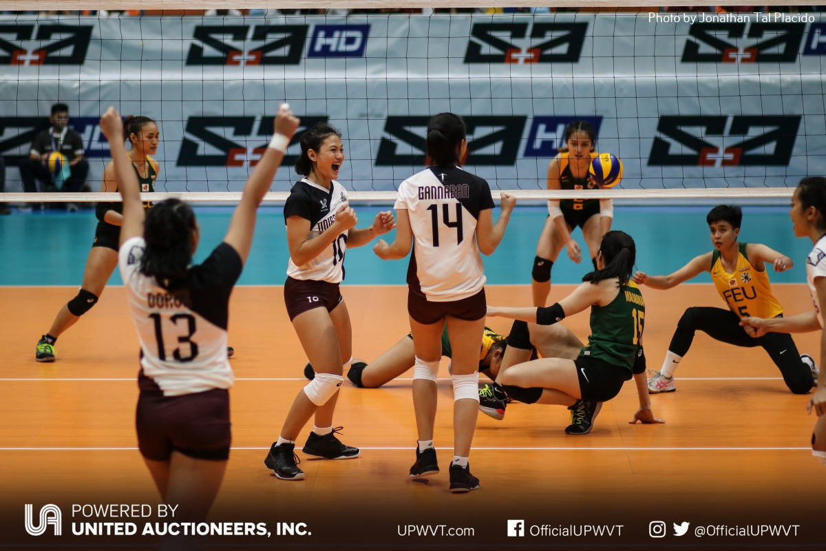 Uaap 81 Up Vs Feu Feb 20 2019 Up Women S Volleyball Team