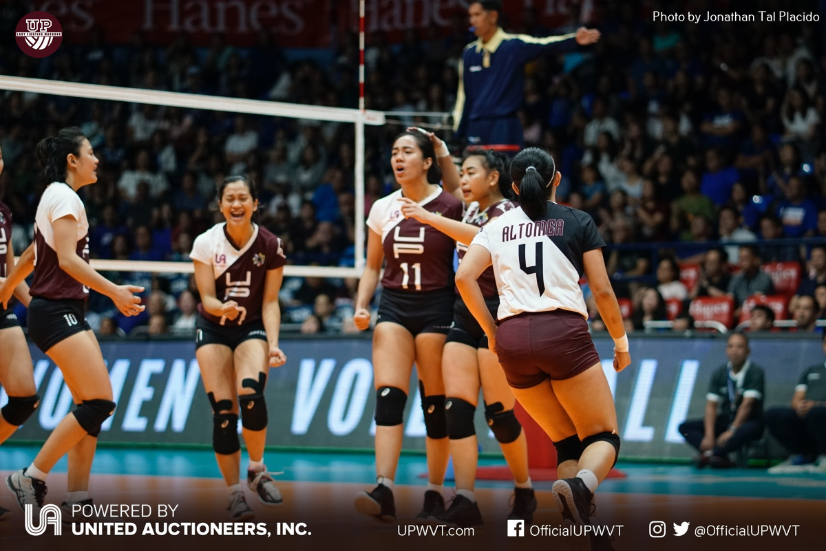 Uaap 81 Up Vs Admu March 10 2019 Up Women S Volleyball Team