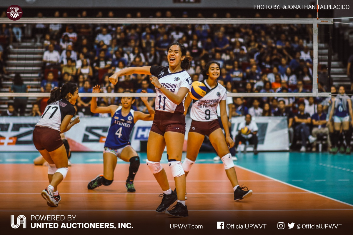 Uaap 81 Up Vs Admu March 30 2019 Up Women S Volleyball Team